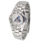 UTEP Texas (El Paso) Miners Ladies Sport Watch with Stainless Steel Band