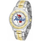 Tulsa Golden Hurricane Competitor Two Tone Watch