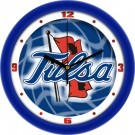 "Tulsa Golden Hurricane 12"" Dimension Wall Clock"