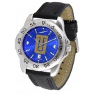 Tulsa Golden Hurricane Sport AnoChrome Men's Watch with Leather Band