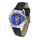 Tulsa Golden Hurricane Sport AnoChrome Ladies Watch with Leather Band