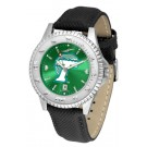 Tulane Green Wave Competitor AnoChrome Men's Watch with Nylon/Leather Band