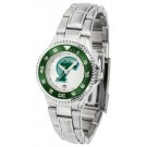 Tulane Green Wave Competitor Ladies Watch with Steel Band