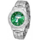 Tulane Green Wave Competitor AnoChrome Men's Watch with Steel Band