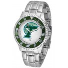 Tulane Green Wave Competitor Men's Watch with Steel Band