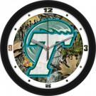 "Tulane Green Wave 12"" Camo Wall Clock"