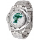 Tulane Green Wave Sport Steel Band Men's Watch