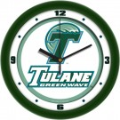 "Tulane Green Wave Traditional 12"" Wall Clock"