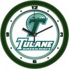 "Tulane Green Wave Traditional 12"" Wall Clock"