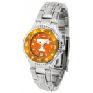 Tennessee Volunteers Competitor AnoChrome Ladies Watch with Steel Band and Colored Bezel