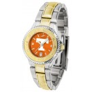 Tennessee Volunteers Competitor AnoChrome Ladies Watch with Two-Tone Band