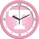"""Tennessee Volunteers 12"""" Pink Wall Clock"""