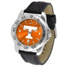 Tennessee Volunteers Sport AnoChrome Men's Watch with Leather Band