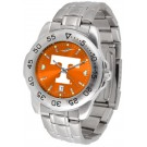 Tennessee Volunteers Sport Steel Band Ano-Chrome Men's Watch