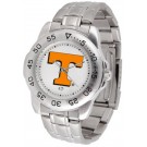 Tennessee Volunteers Sport Steel Band Men's Watch