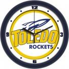 "Toledo Rockets Traditional 12"" Wall Clock"
