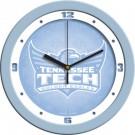 """Tennessee Tech Golden Eagles 12"""" Blue Wall Clock"""