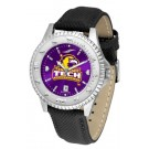 Tennessee Tech Golden Eagles Competitor AnoChrome Men's Watch with Nylon/Leather Band