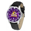 Tennessee Tech Golden Eagles Competitor AnoChrome Men's Watch with Nylon/Leather Band and Colored Bezel
