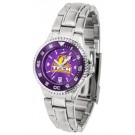Tennessee Tech Golden Eagles Competitor AnoChrome Ladies Watch with Steel Band and Colored Bezel