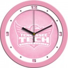 "Tennessee Tech Golden Eagles 12"" Pink Wall Clock"