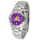 Tennessee Tech Golden Eagles Sport AnoChrome Ladies Watch with Steel Band