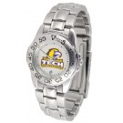 Tennessee Tech Golden Eagles Gameday Sport Ladies' Watch with a Metal Band