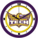 """Tennessee Tech Golden Eagles Traditional 12"""" Wall Clock"""