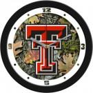 "Texas Tech Red Raiders 12"" Camo Wall Clock"