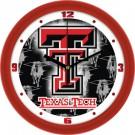 """Texas Tech Red Raiders 12"""" Dimension Wall Clock"""