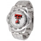 Texas Tech Red Raiders Sport Steel Band Men's Watch