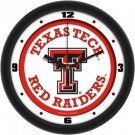 "Texas Tech Red Raiders Traditional 12"" Wall Clock"