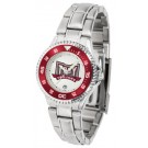 Troy State Trojans Competitor Ladies Watch with Steel Band