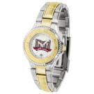 Troy State Trojans Competitor Ladies Watch with Two-Tone Band