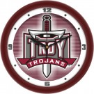 "Troy State Trojans 12"" Dimension Wall Clock"