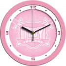 "Troy State Trojans 12"" Pink Wall Clock"
