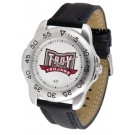 Troy State Trojans Men's Sport Watch with Leather Band
