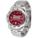 Troy State Trojans Sport Steel Band Ano-Chrome Men's Watch
