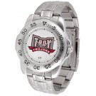 Troy State Trojans Sport Steel Band Men's Watch