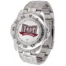 Troy State Trojans Sport Steel Band Men's Watch