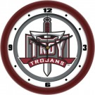 "Troy State Trojans Traditional 12"" Wall Clock"