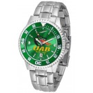 Alabama (Birmingham) Blazers Competitor AnoChrome Men's Watch with Steel Band and Colored Bezel