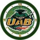 "Alabama (Birmingham) Blazers 12"" Dimension Wall Clock"