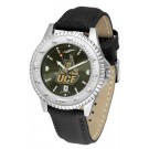 UCF (Central Florida) Knights Competitor AnoChrome Men's Watch with Nylon/Leather Band