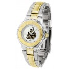 UCF (Central Florida) Knights Competitor Ladies Watch with Two-Tone Band