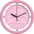 """UCF (Central Florida) Knights 12"""" Pink Wall Clock"""