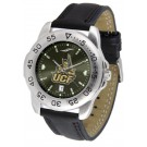 UCF (Central Florida) Knights Sport AnoChrome Men's Watch with Leather Band