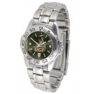 UCF (Central Florida) Knights Sport AnoChrome Ladies Watch with Steel Band
