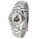 UCF (Central Florida) Knights Gameday Sport Ladies' Watch with a Metal Band