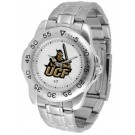 UCF (Central Florida) Knights Sport Steel Band Men's Watch